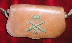 Cartucherín 1909-31 Artillería Montada tropa