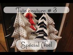 Tuto couture #3 ~ Sapin en tissu (Spécial Noël) - YouTube