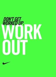 Work it out. #motivation #inspiration #nike