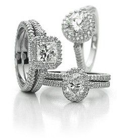 Engagement rings. - Click image to find more hot Pinterest pins