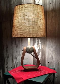 Exceptional Let This Lamp Anchor Your Space Just As The Vintage Stirrup That Is Used To  Create