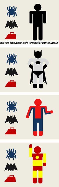Elearning pictogram characters by Matt Guyan