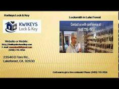 Locksmith in Rancho Santa Margarita
