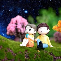 Romantic Lover Figurines Boy Girl Wedding Doll Miniatures Couple Fairy home Garden Decoration mariage toy DIY accessories Cartoon Love Pictures, Love Cartoon Couple, Cute Love Pictures, Cute Couple Wallpaper, Cute Disney Wallpaper, Frozen Wallpaper, Doraemon Wallpapers, Cute Cartoon Wallpapers, Tom And Jerry Pictures