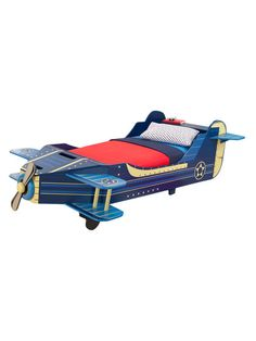 KidKraft Airplane Toddler Bed $209 #Gilt
