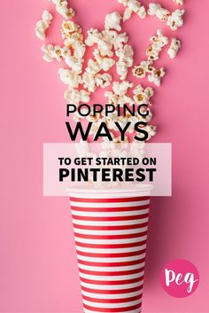 Pinterest is a virtual pinboard, perfect for visual people. Here are 12 popping ways to get started on #Pinterest via @PegFitpatrick.
