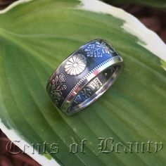 Coin Rings Handmade from Japanese 50 Sen Silver Sizes Diy Jewelry Rings, Coin Jewelry, Wire Jewelry, Jewlery, Jewelry Making, French Maid Fancy Dress, Leather Apron, Ring Displays, Spoon Rings