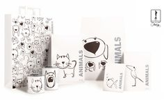 Packaging for pet food | Animals on Behance