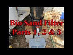 How To Build A High Quality Water Filter Using Sand | Build Your Own DIY Truck Camper And Get Off The Grid For Dirt Cheap