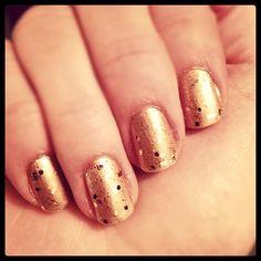 gold on gold! #gritandglamour