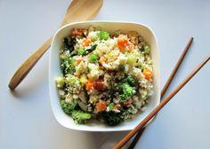 "Raw Cauliflower Vegetable ""Fried"" Rice"