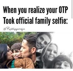 Once Upon A Time (OUAT). Henry, Emma Swan and Killian Jones/Captain Hook family! Yes...family selfie.