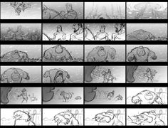 Frozen – Storyboards