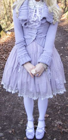 sweet purple lolita