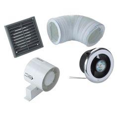 Manrose VDISL100S Shower Light Bathroom Extractor Fan Kit (D)98mm