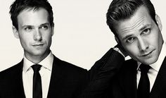 Gabriel Macht and Patrick J. Adams from 'Suits'.  Love this show!