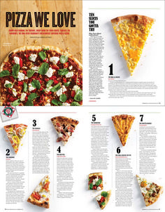 I like this page layout for this pizza magazine. I like how simple and easy it gives the information. I like this page layout for this pizza magazine. I like how simple and easy it gives the information. Magazine Design, Food Magazine Layout, Web Design, Food Design, Design Editorial, Editorial Layout, Pizza Menu Design, Poster Art, Magazine Spreads