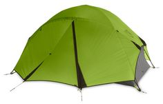 NEMO Losi 2P Two Person Backpacking Tent  —  I've been using this tent on-and-off for a few years. It's easy to setup, durable, well-made, and has plenty o room to store your gear. It's also unrivaled for sleeping under the stars. (0IIIIIII0)