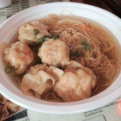 Classic Hong Kong style Wonton Noodle Soup. #atasteofhome #comfort #Padgram