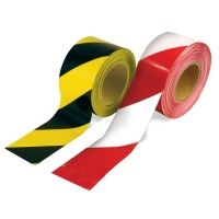 Hazard Warning Barrier Tape Roll - Non Adhesive - Various Colours - x Industrial Packaging, Colored Tape, Packaging Supplies, Masking Tape, Adhesive, Red And White, Colours, Rave