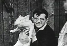 Shostakovich with a pig. What else is there to say?