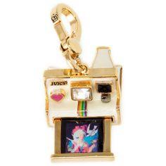 Juicy Polaroid Camera Charm. <3