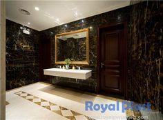 PVC Marble Bathroom Wall,Afghan Portoro Marble Effect