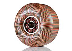 The Sculptures Of Haroshi. Made from recycled skateboards.