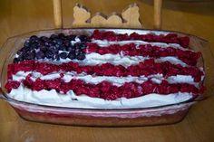 Christmas Jello Poke Cake Recipe | ... your family tonight with a scrumptious Patriotic Poke Cake dessert