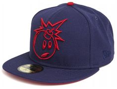 THE HUNDREDS x NEW ERA「Outline Bomb」59Fifty Fitted Baseball Cap