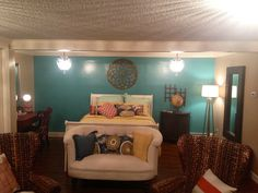 Convert Extra Space Living Room Or Basement Into A Bedroom