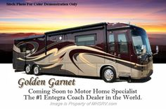 """New 2015 Entegra Coach Aspire 42DEQ W/4 Slides, 450HP, 46\"""" LED TV, Bose For Sale by Motor Home Specialist available in Alvarado, Texas"""
