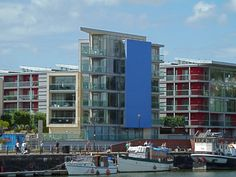 The Point apartments at Wapping Wharf, Bristol Harbour by Anthony ONeil, via Geograph Bristol Harbourside, My Town, Cliff, About Uk, Apartments, The Neighbourhood, London, Modern, Design