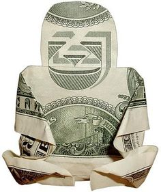 Folding money monkey