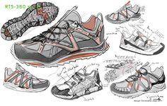 Quechua Trail footwear RT-5 360° SS-2012 by christophe juge, via Behance