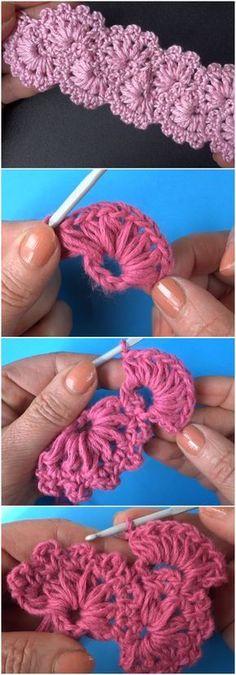 Learn To Crochet Lace Tape Ribbon