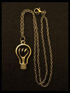 bombilla colgante vintage steampunk bronce