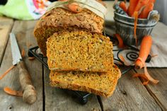 Carrot Rye Bread  Labels: { Bread, Levain and Sourdough, Nuts and Seeds }