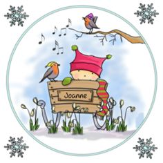 Hollands geboortekaartje winter wonder met baby meisje met muts op in winterse omgeving.