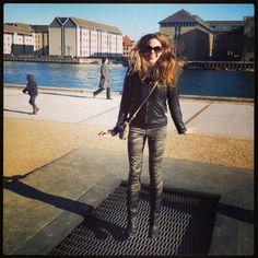 Trampolines in the sidewalks in Copenhagen!!!!