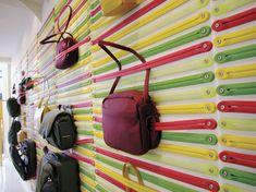 Cool Bags Display - Mandarina Duck Store, Paris
