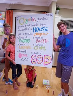 I love this scripture and the family night lessons!