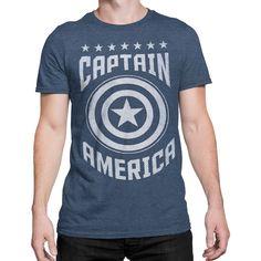 Captain America Varsity Men's T-Shirt Captain America Shirt, Super Soldier, Vinyl Shirts, Athletic Fashion, Steve Rogers, Tees, Mens Tops, T Shirt, Cricut