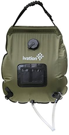 Ivation 5Gallon Portable Outdoor Shower  Lightweight  Portable  Includes Removable Hose wOnOff Switchable Showerhead  Compact and lightweight -- You can get additional details at the image link.