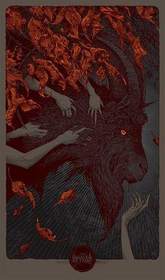 The VVitch by Aaron Horkey Editioned artwork Arte Horror, Horror Art, Art And Illustration, Illustrations, Psychedelic Art, Satanic Art, Arte Obscura, Occult Art, Creepy Art
