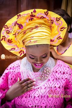 Traditional West African Bride -