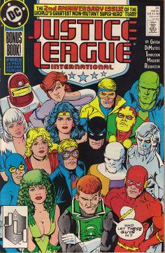 Justice League International bonus book