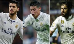 James Rodriguez vs Alvaro Morata vs Isco