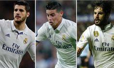 James Rodriguez vs Alvaro Morata vs Isco