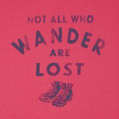 Women's Wander Hike Crusher Tee